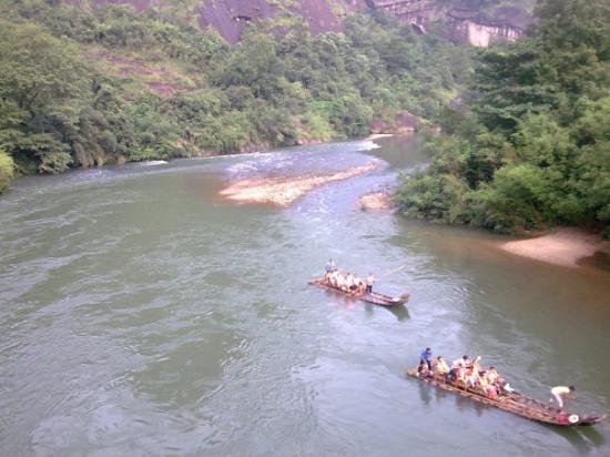 Wuyi Shan, จีน: 五夷山 - 竹钎游