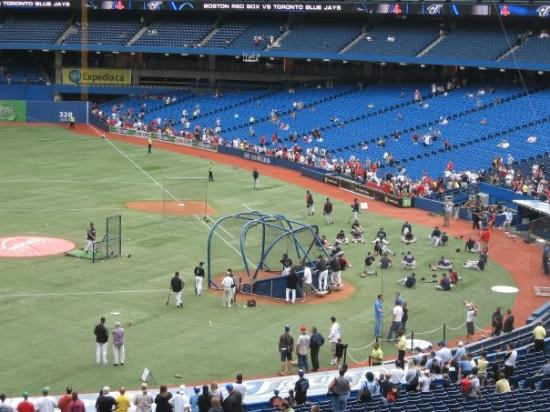 Rogers Centre: Warmup