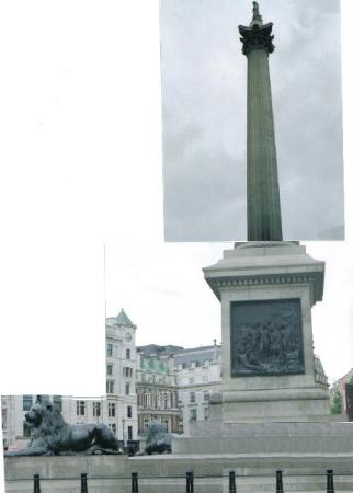 Nelson's Column...yes this was 3 seperate photos