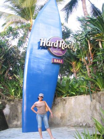 โรงแรมฮาร์ดร็อค: at hard Rock Hotel Bali