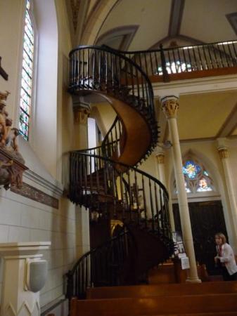 ซานตาเฟ, นิวเม็กซิโก: Miracle staircase of Loretto Chapel