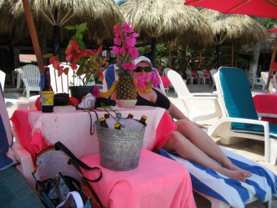Playa Las Gatas : embarassing pina coloda