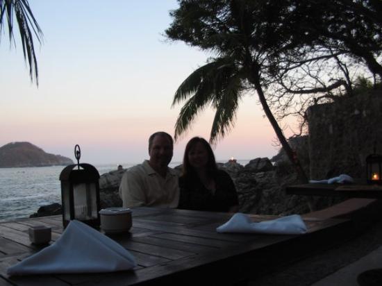 La Cala: Dinner at La Calla, the most romantic setting