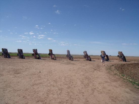 Cadillac Ranch outside Amarillo, TX