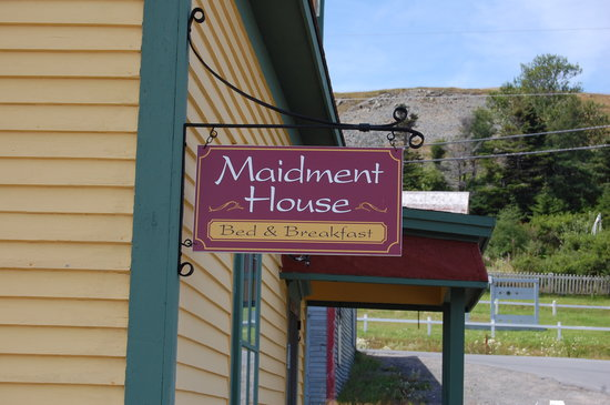 Maidment House Bed & Breakfast: Maidment House Sign