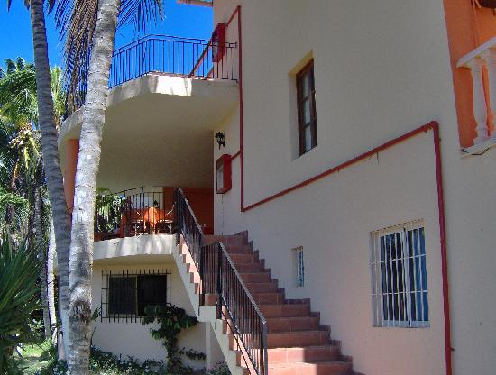 Hotel Casa Rita: hacia la terraza... muy buenos desayunos