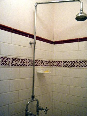 Blackheath, Australia: The shower. Good hot water, but it's in a closet!