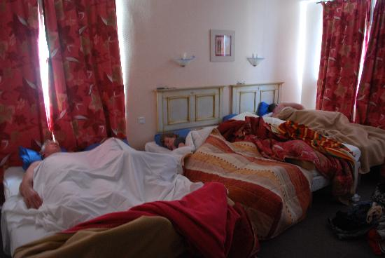 """Hotel Le Canada Hermanville : Our """"Hostel"""" accommodations"""
