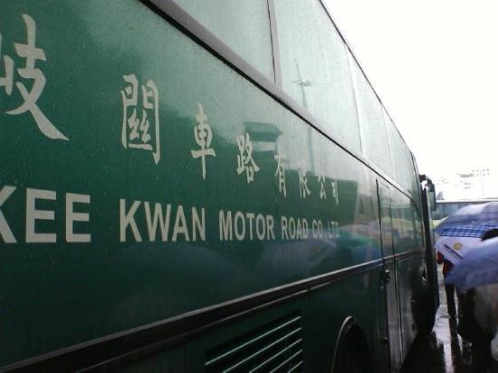 จูไห่, จีน: 歧關車,廣州->珠海