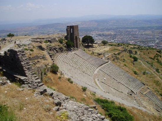 Bergama, Türkiye: Views from atop Pergamon's Acropolis
