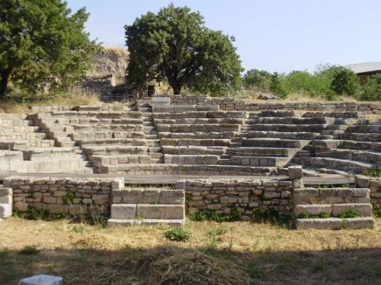 Canakkale, ตุรกี: Ruins of Troy...
