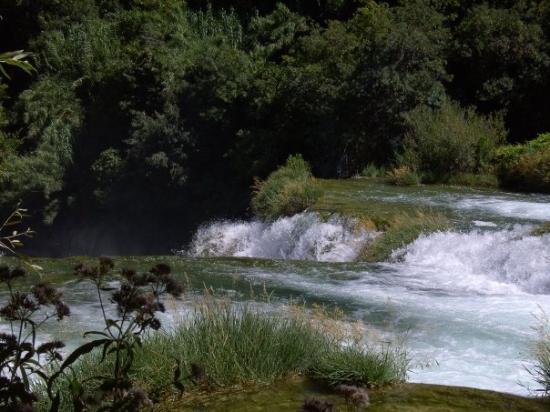 Krka National Park, โครเอเชีย: Another waterfall...