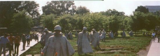 อนุสรณ์ทหารผ่านศึกเกาหลี: Korean War Memorial, Washington, DC
