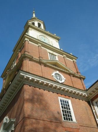Independence Hall clock