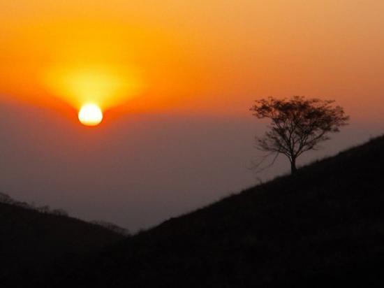 Leon, Nicaragua: Sunset on El Hoyo Volcano Nicaragua