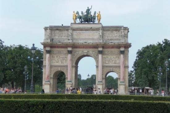 Carrousel du Louvre: Arc de Triomphe du Carrousel