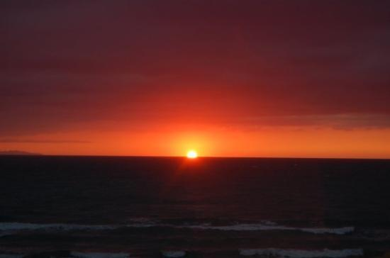 San Vincenzo, Italia: Sonnenuntergang in der Toscana