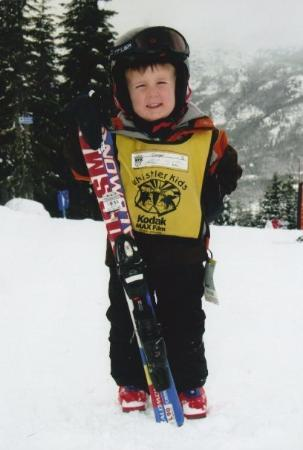 Whistler Blackcomb: My little skier!