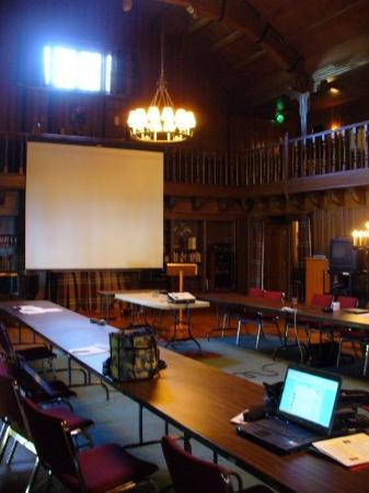 Corbett, OR: the conference room
