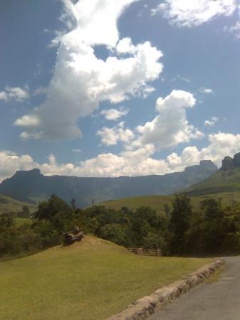 uKhahlamba-Drakensberg Park, Sør-Afrika: The Amphitheatre,Drakensberg