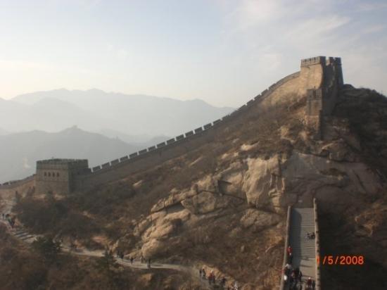 The Great Wall at Badaling: Great Wall!