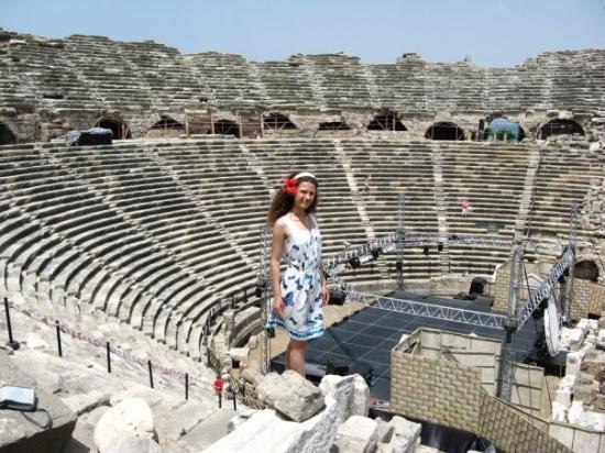 Greek Amphitheater Aufnahme