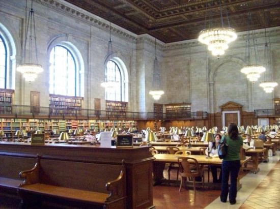 New York Public Library ภาพถ่าย