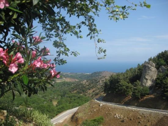 Samothráki, Grèce : View from Hora
