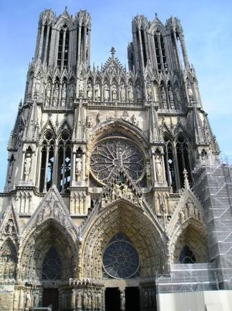 Cathedrale Notre-Dame de Reims: The cathedral in Reims