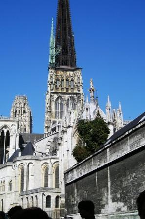 Cathedrale Notre-Dame de Rouen: The cathedral in Rouen