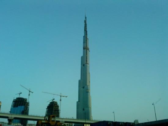 เบิร์จคาลิฟา: La tour de Burj Dubai