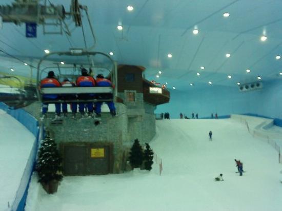 Petit passage à Ski Dubai