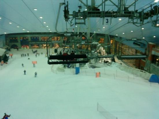 Ski Dubai: Et il y'a du monde