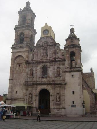 Aguascalientes, México: Templo de San Marcos (1758)