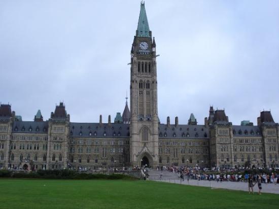 พาร์เลียเมนท์ฮิล: El Parlamento de Ottawa, de día