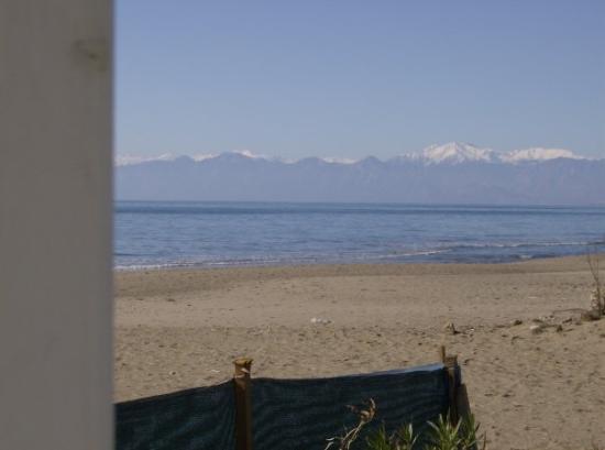เบเลค, ตุรกี: à nos pieds la mer au loin les sommets enneigés fabuleux!