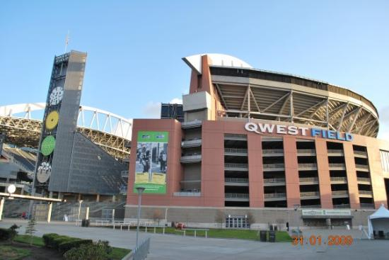 CenturyLink Field: Qwest Field. Home of the Seahawks