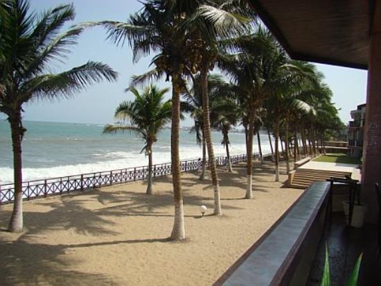 Elmina Beach Resort View Of From Hotel