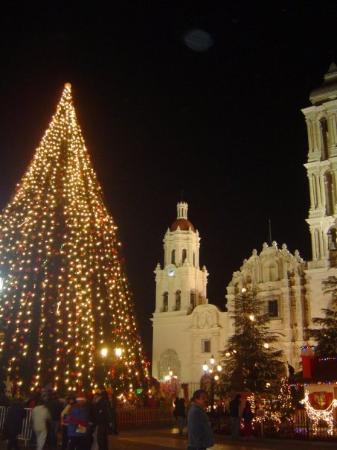 Navidad en Saltillo Plaza de Armas