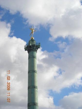 Place de la Bastille: La Bastille