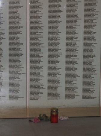 Mauthausen, Österreich: I nomi di alcuni dei caduti!