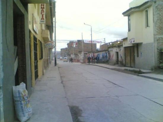 Ayacucho, เปรู: the road