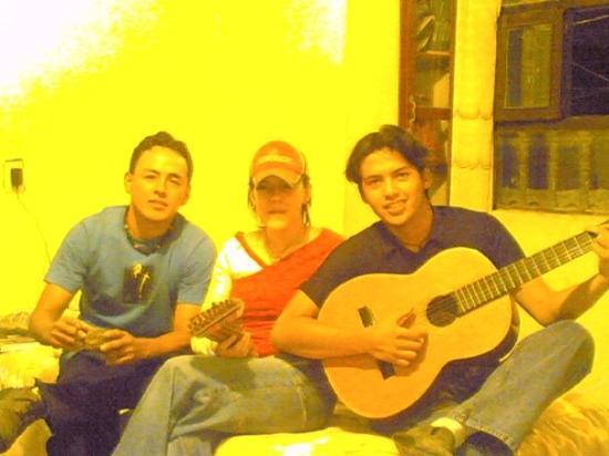 Ayacucho, เปรู: alcides's house
