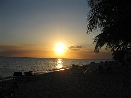 La Romana, Dominican Republic: Merveilleux coucher de soleil!