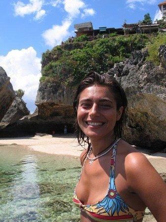 เปจาตู , อินโดนีเซีย: Uluwatu Beach_Bali2003