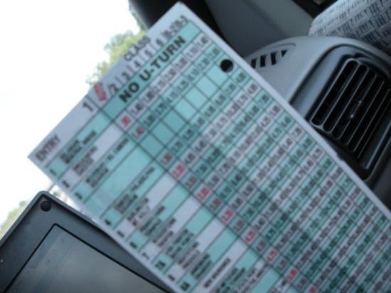 นวร์ก, นิวเจอร์ซีย์: My Jersey Turnpike punch card...