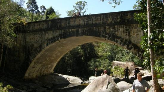 Little Crystal Creek Bridge. Part of the road to Paluma.