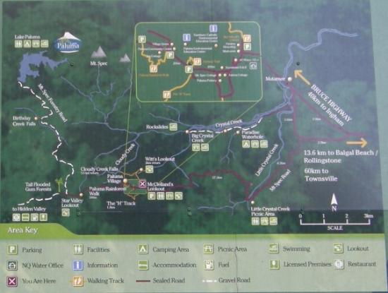 Paluma area map