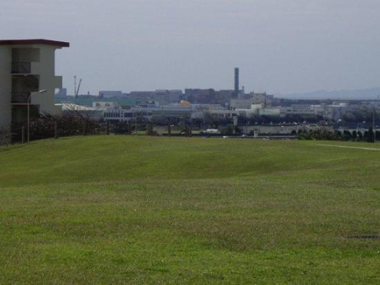 นะฮะ, ญี่ปุ่น: That is the area that is the base I am on...