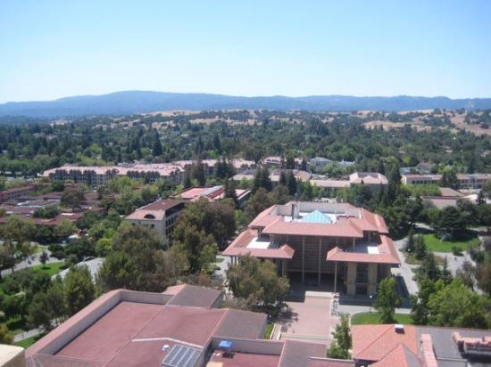 พาโลอัลโต, แคลิฟอร์เนีย: Vista da torre.